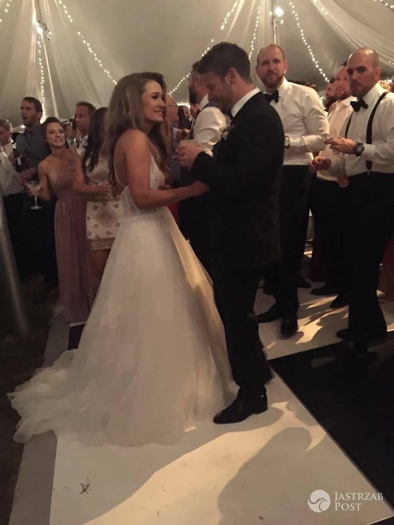 Ślub Marty Krupy i Marco Andrettiego