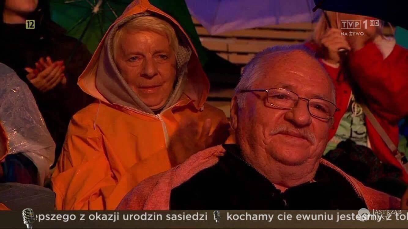 Rodzice Edyty Górniak na festiwalu w Opolu 2017