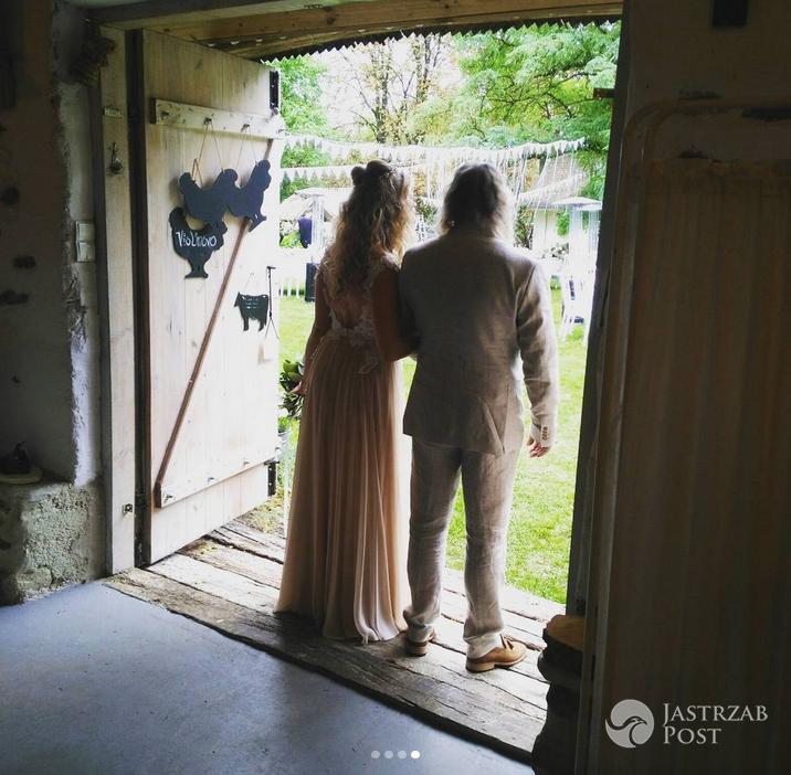 Zdjęcia ze ślubu Lary Gessler