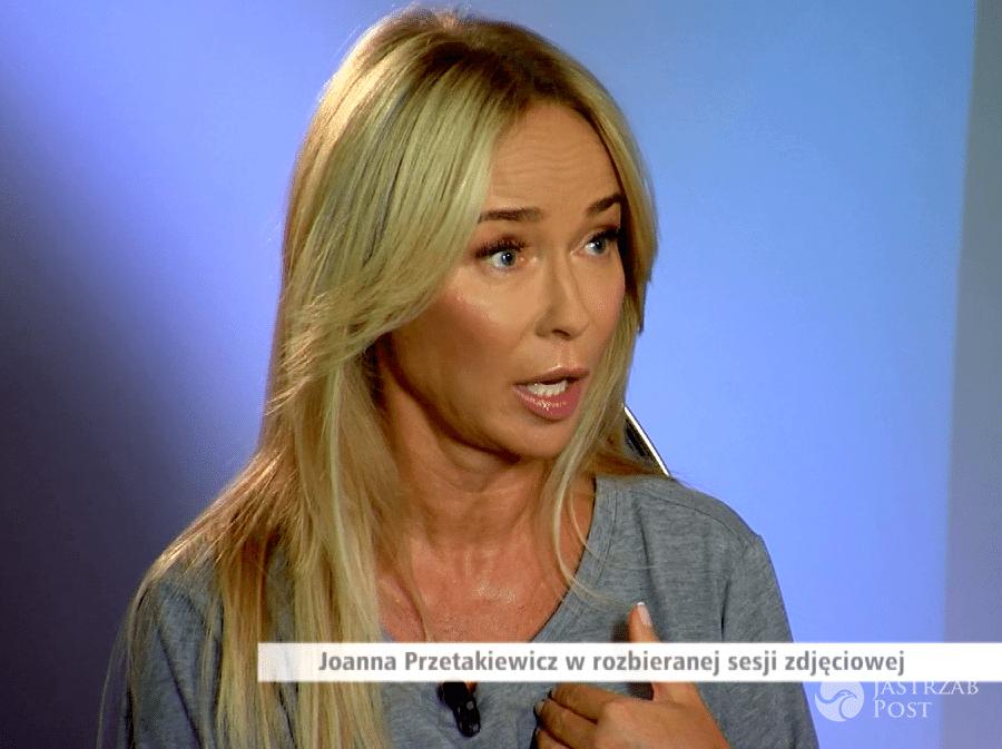 Joanna Przetakiewicz o sesji dla Playboya w Dzień Dobry TVN