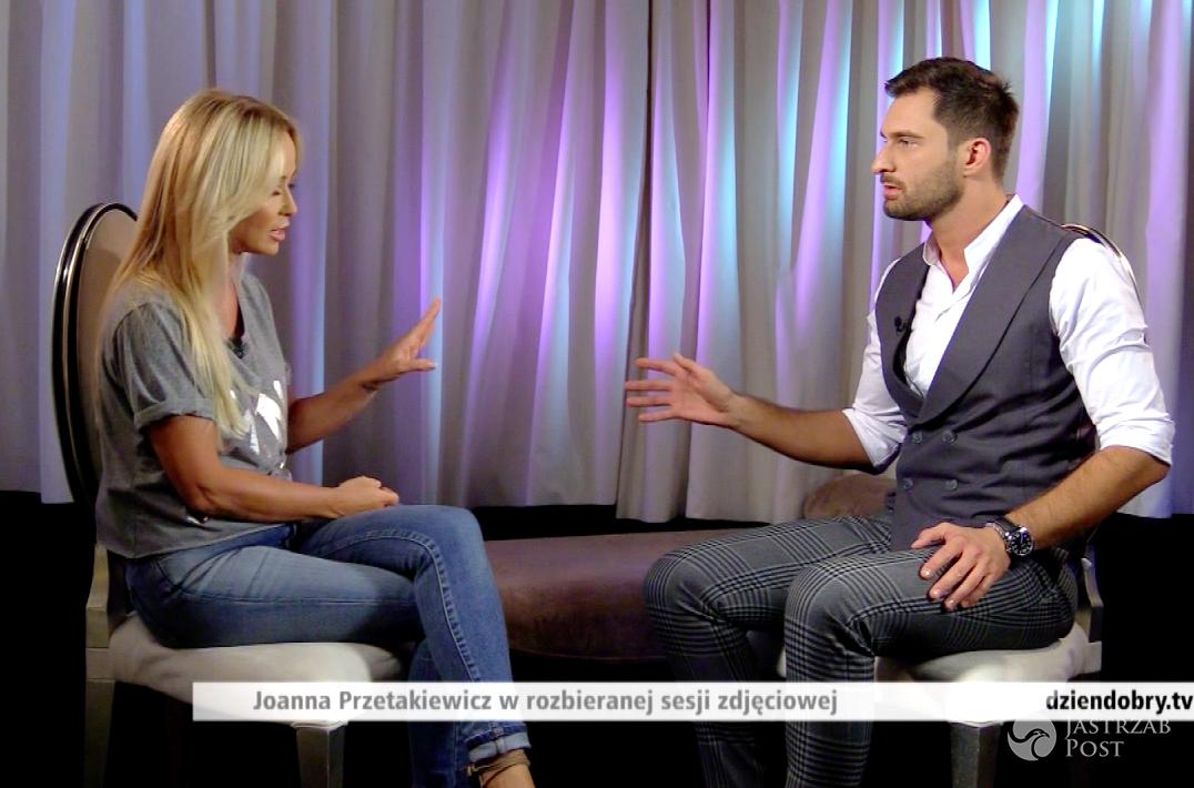 Joanna Przetakiewicz i Mateusz Hładki mieli spięcie podczas wywiadu