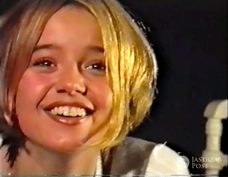 Anna Przybylska na castingu do agencji modelek w 1994 roku