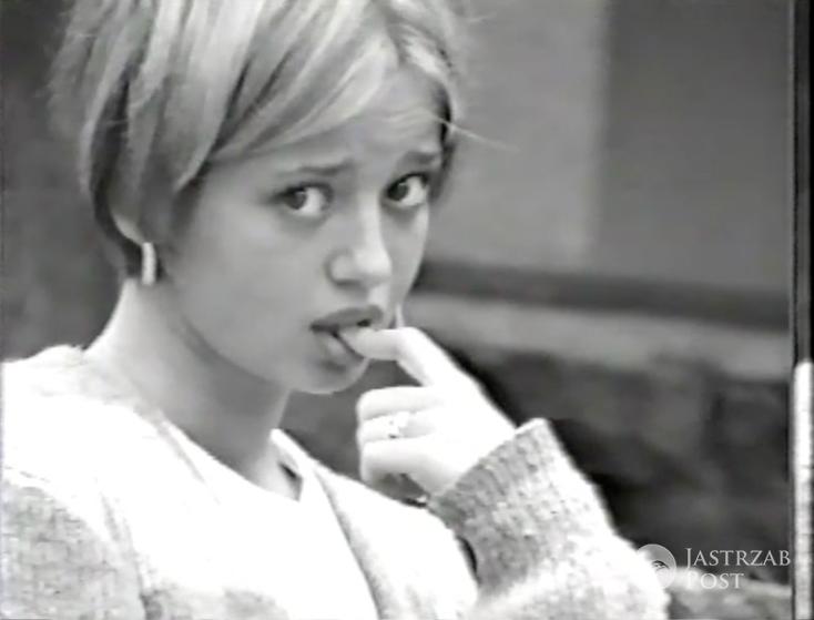 Pierwszy casting młodej Anny Przybylskiej