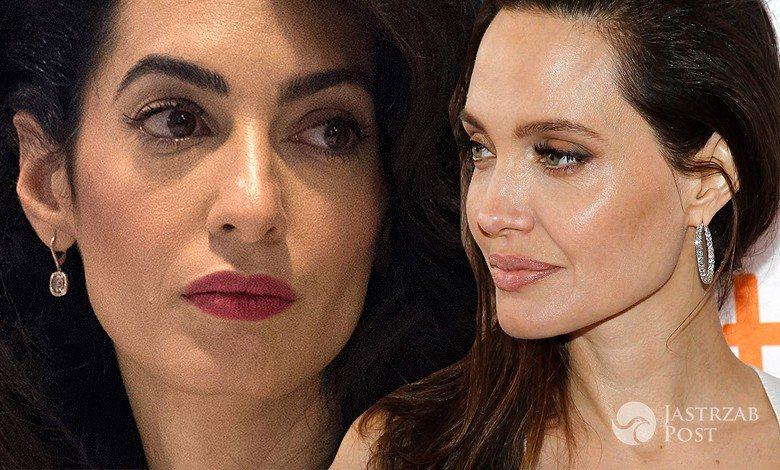 Amal Clooney i Angelina Jolie nie lubią się