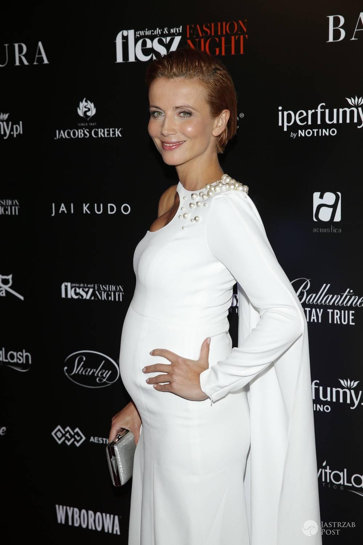 Katarzyna Zielińska w ciąży na Flesz Fashion Night 2017