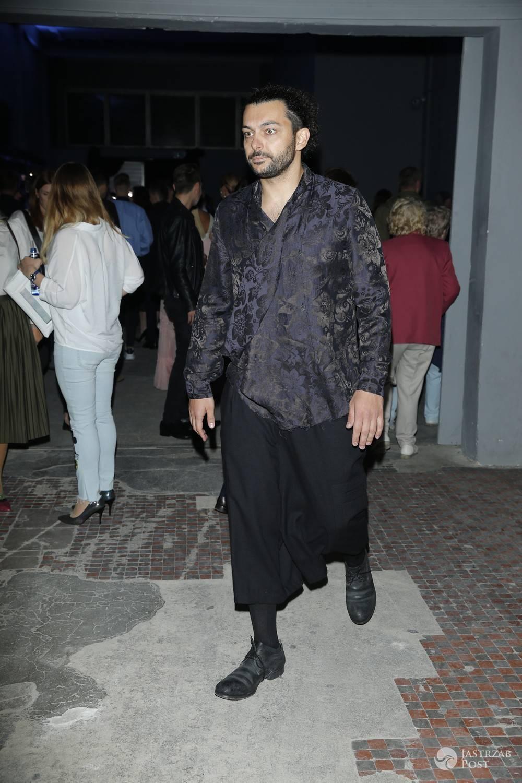 Kamil Haidar na pokazie Bizuu