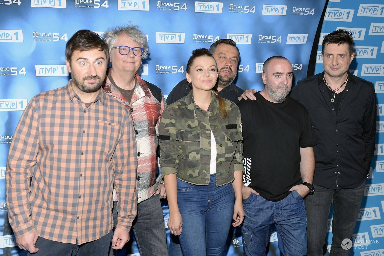Zespół NaVi na konferecji Festiwalu w Opolu