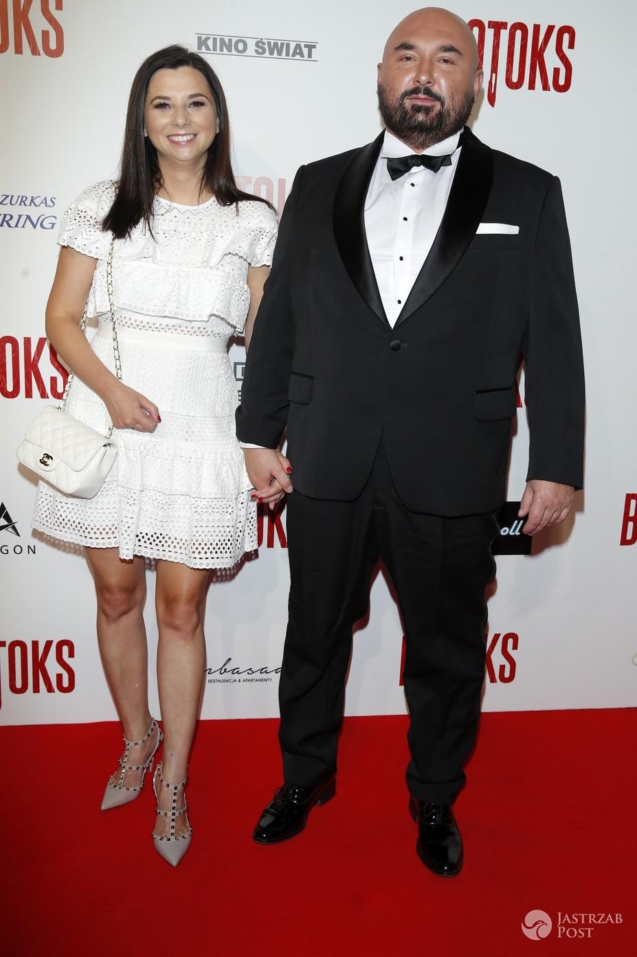 Patryk Vega z żoną - BOTOKS, premiera filmu