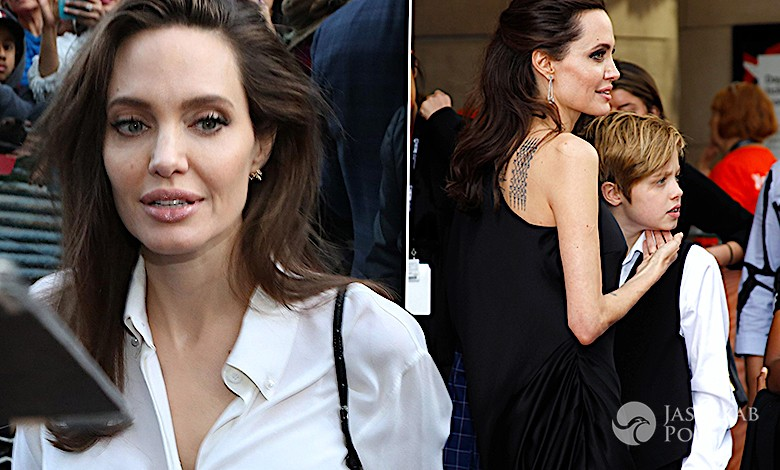 Angelina Jolie powrót