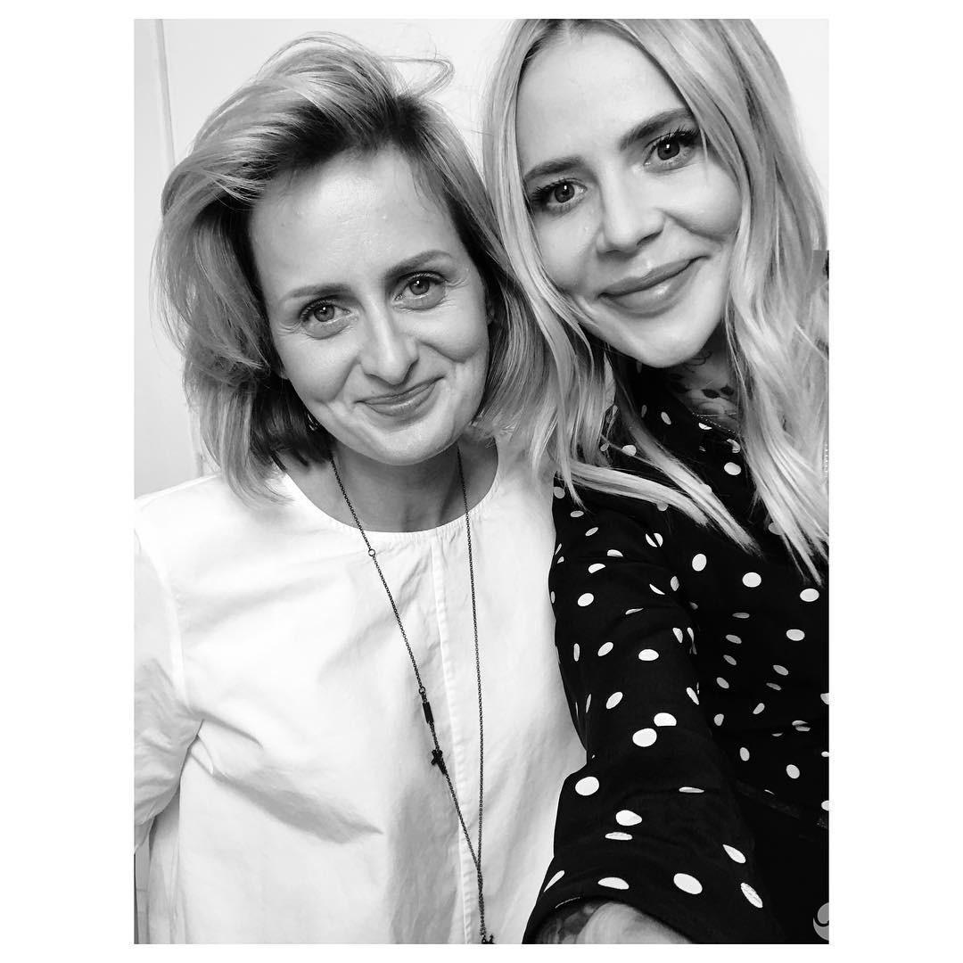 Maja Sablewska i Anka Krystyniak