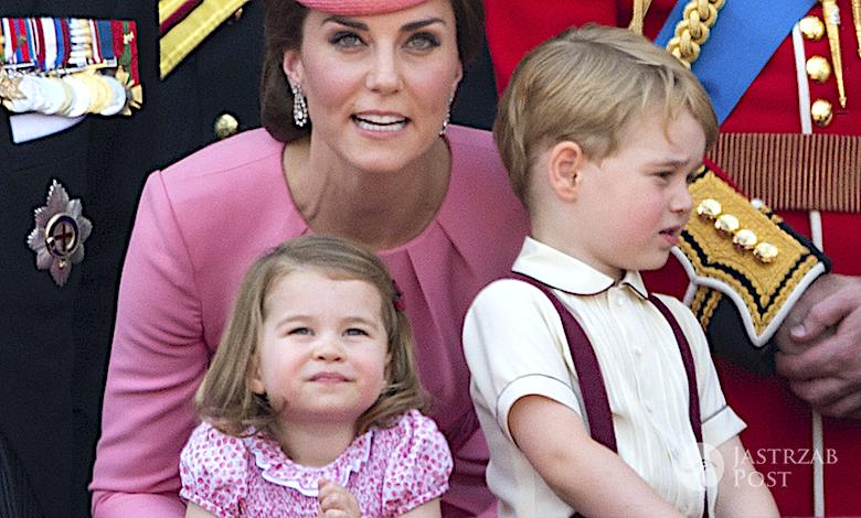 Księżna Kate, George, Charlotte, dzieci
