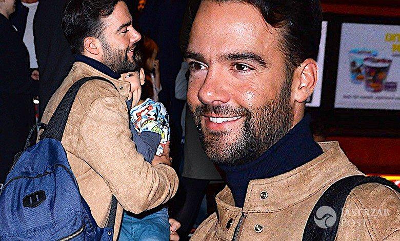 Conrado Moreno z synem