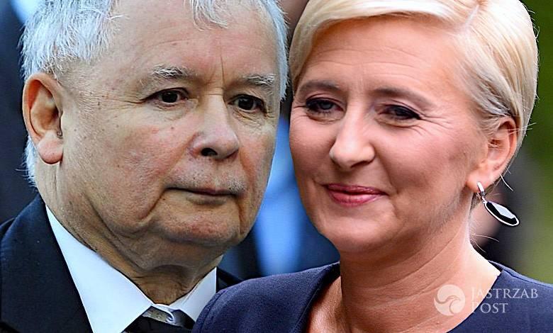 Agata Duda i Jarosław Kaczyński