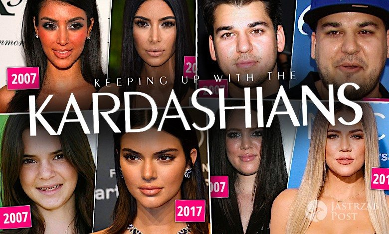 Kardashianki metamorfozy