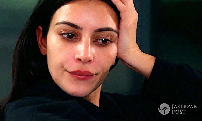 Kim Kardashian wpadka