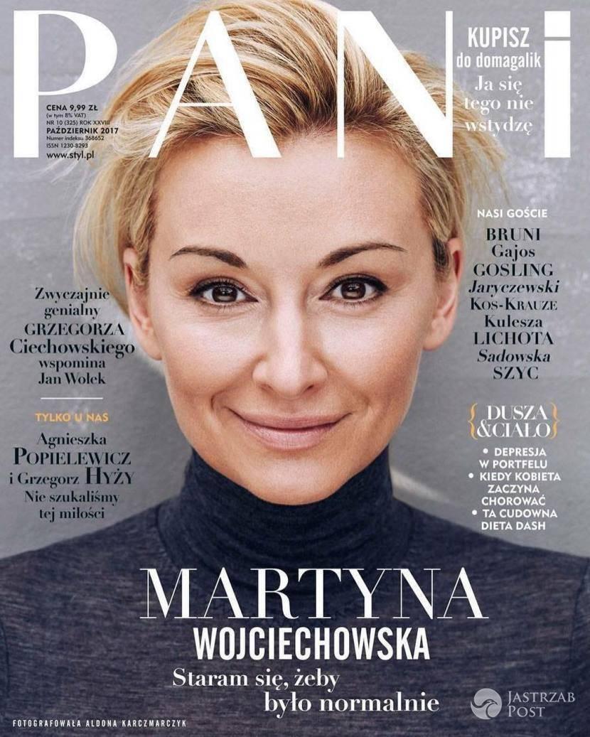Martyna Wojciechowska na okładce PANI październik 2017