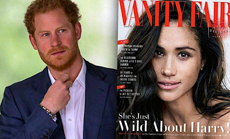 Meghan Markle książę Harry Vanity Fair
