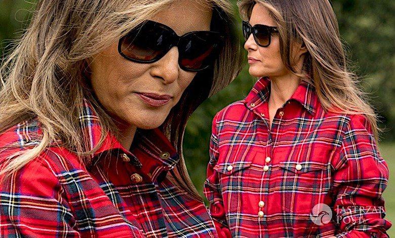 Melania Trump stylizacja
