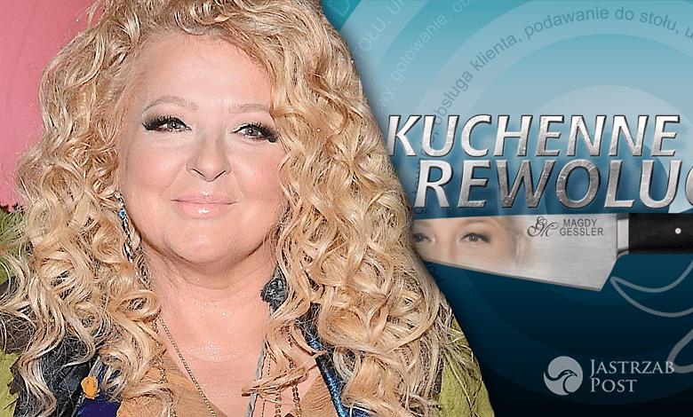 Magda Gessler zadowolona z sukcesu Kuchennych Rewolucji