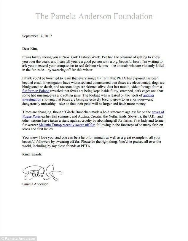 List Pameli Anderson do Kim Kardashian