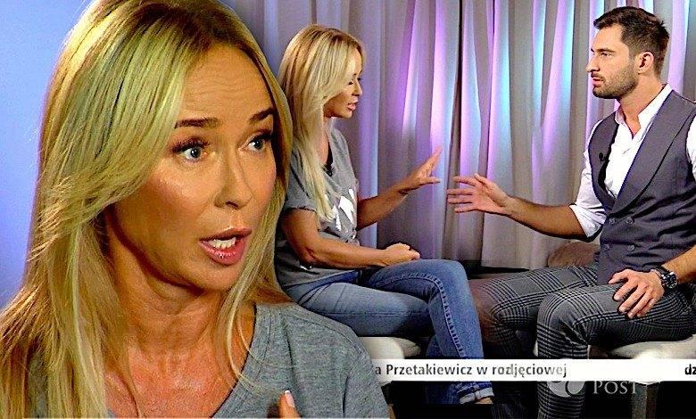 Joanna Przetakiewicz i Mateusz Hładki spięcie podczas wywiadu