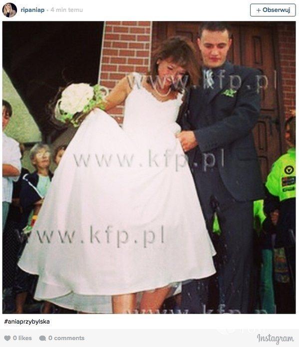 Ania Przybylska i Dominik Zygra - ślub