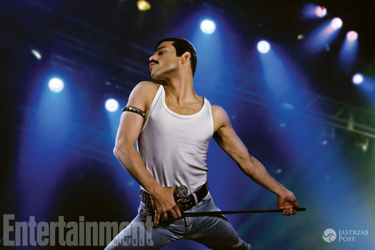 Rami Malek jak Freddie Mercury