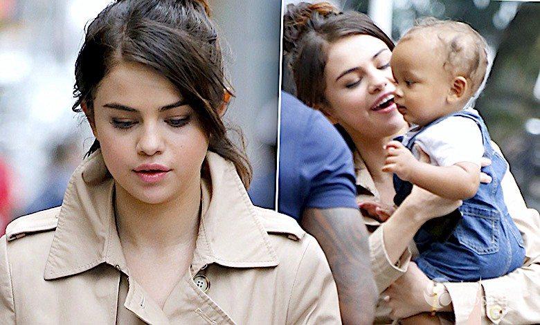 Selena Gomez na planie filmu u Woody Allen