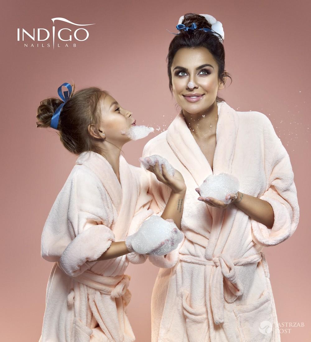Natalia Siwiec w kampanii INDIGO Mama Style
