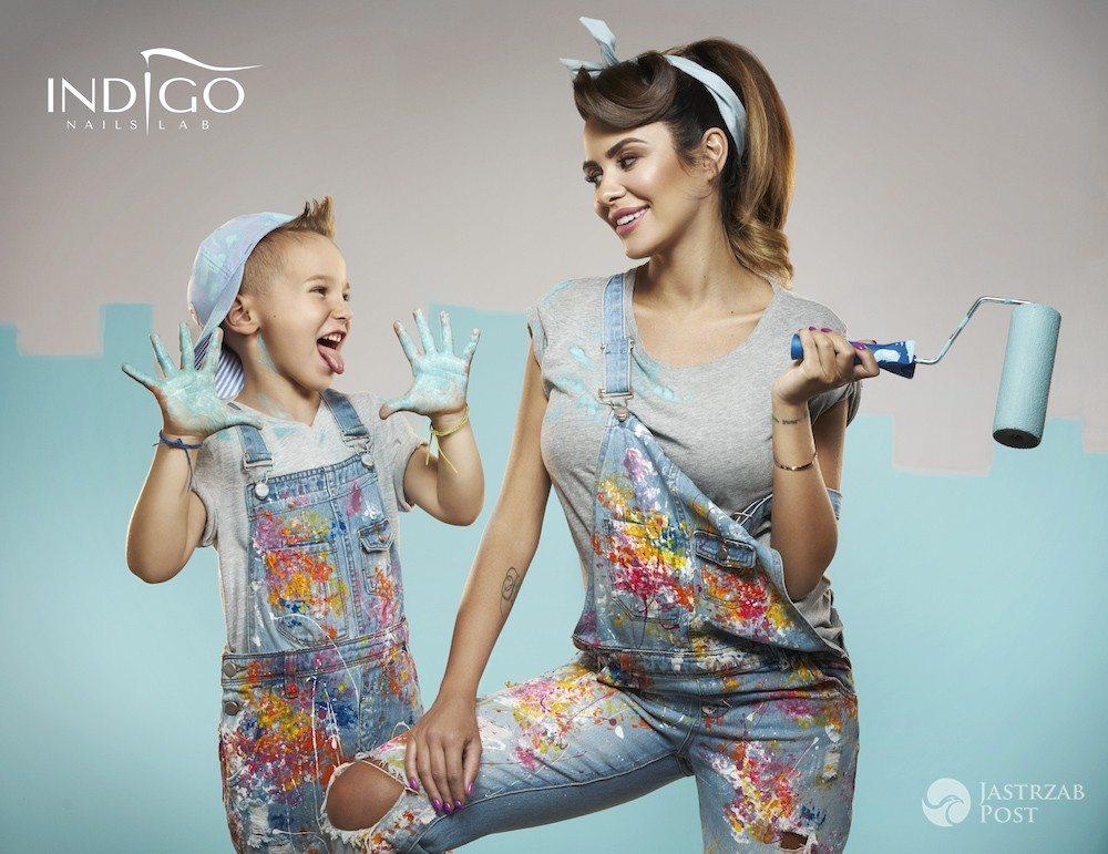 Sesja Natalii Siwiec w ciąży - jedyne zdjęcia dla marki INDIGO