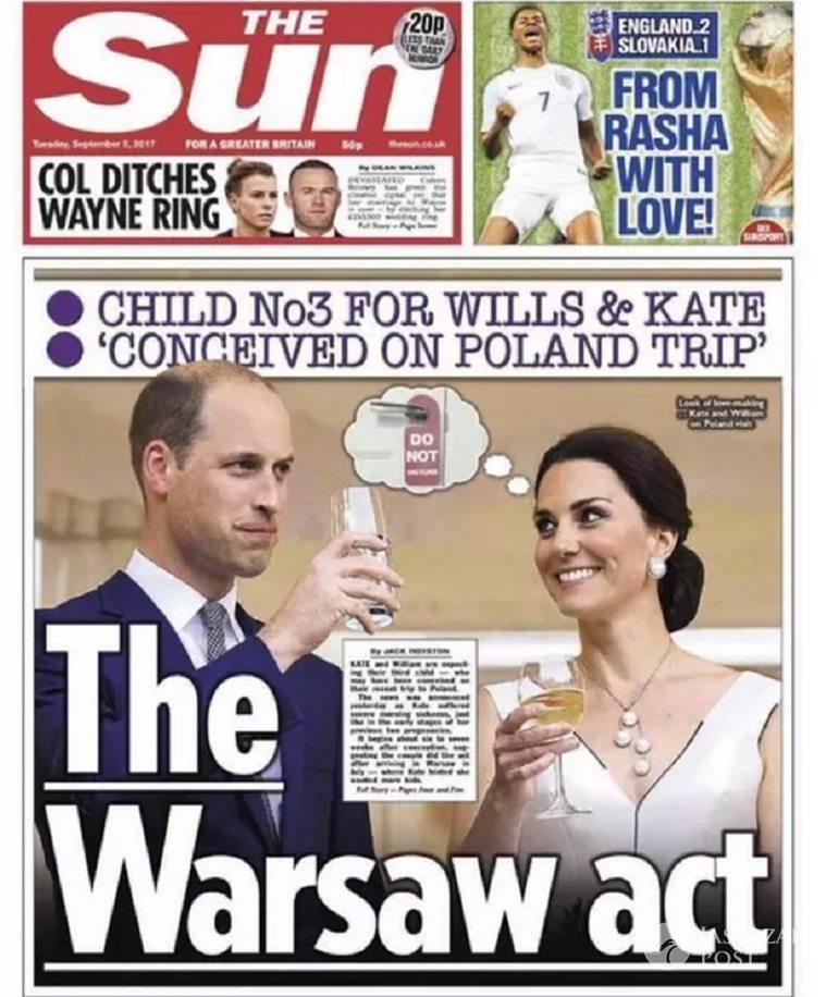 Księżna Kate zaszła w ciążę w Polsce?
