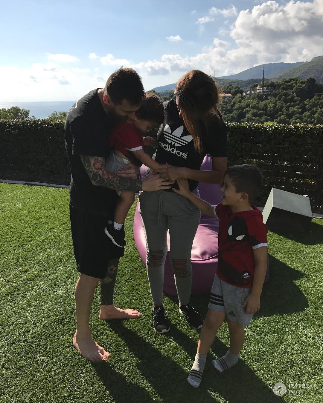 Leo Messi zostanie trzeci raz ojcem