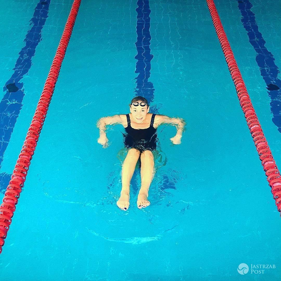 Sonia Bohosiewicz na basenie