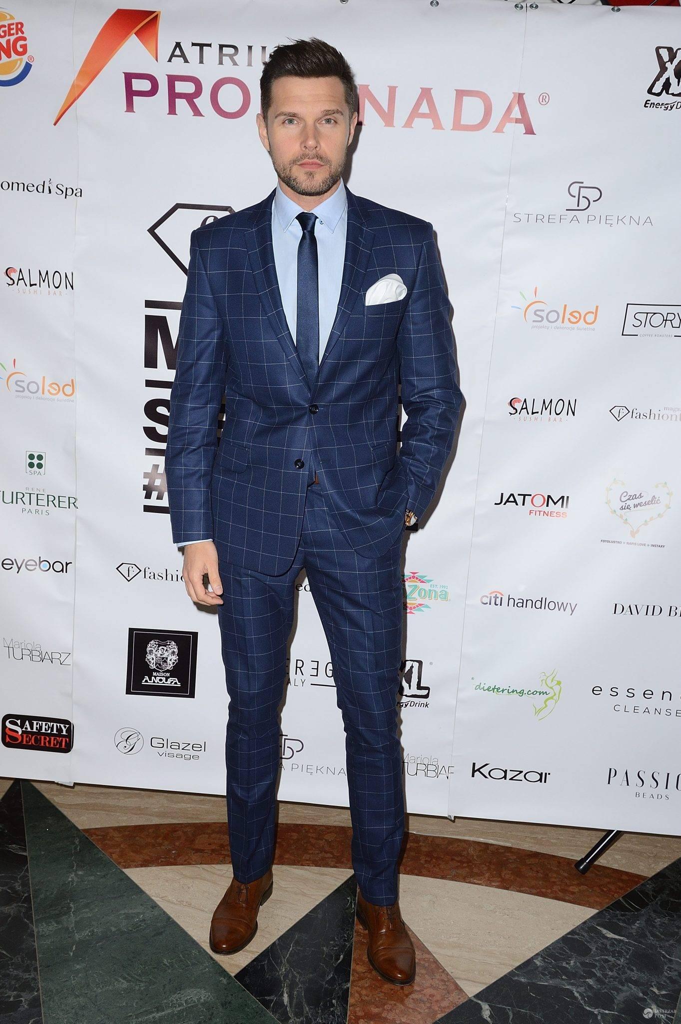 Marek Kaliszuk - gala FashionTV Model Search 2017