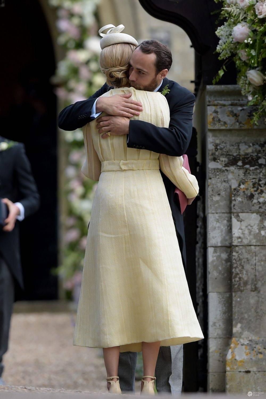 James Middleton i Donna Air ostatni raz byli widziani razem na ślubie Pippy Middleton, 20 maja 2017