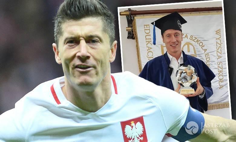 Niemcy wyśmiali licencjat Roberta Lewandowskiego