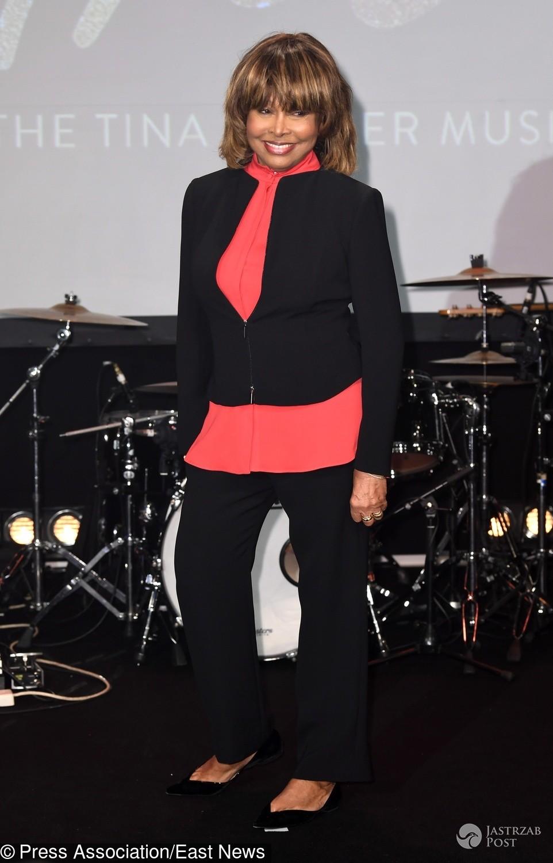 Tina Turner na prezentacji musicalu Tina