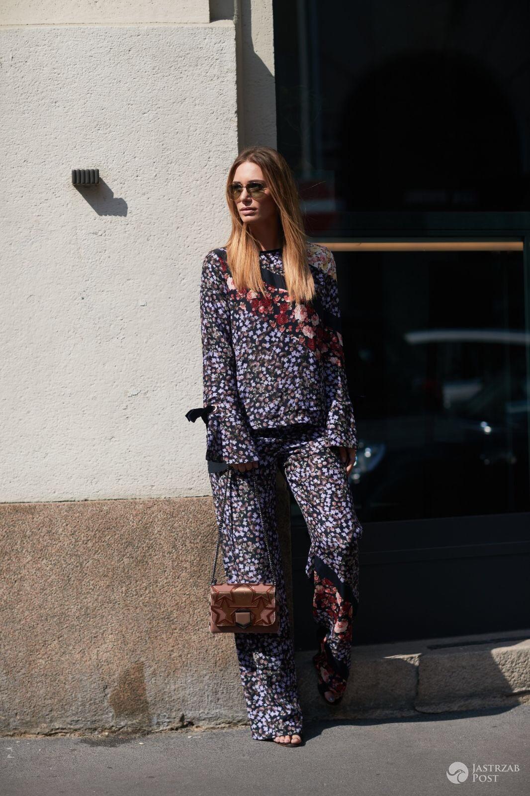 Jessica Ziółek w Mediolanie na Tygodniu Mody