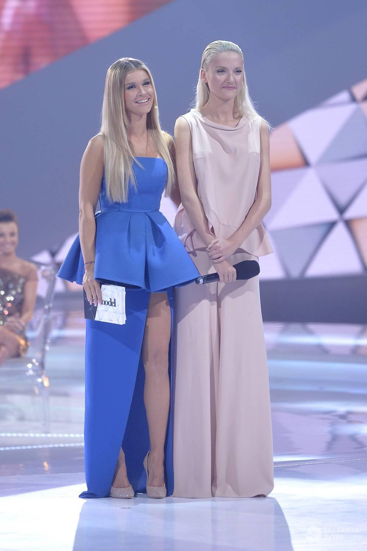 Joanna Krupa i Marta Sędzicka na finale Top Model 4