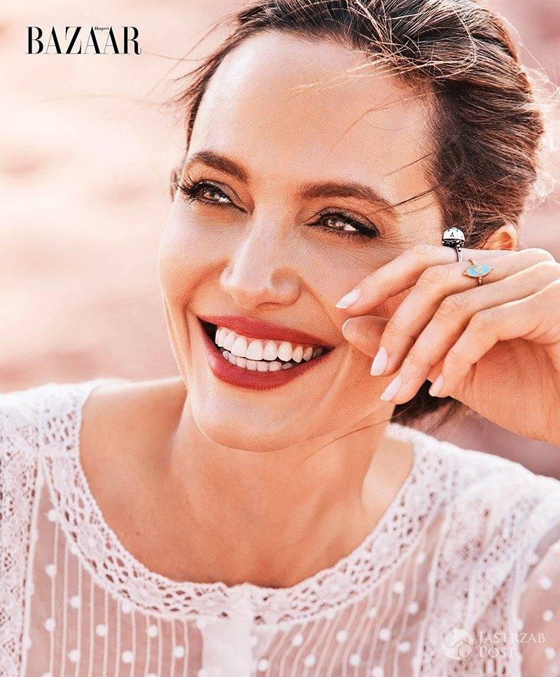 Sesję Angeliny Jolie dla Harper's Bazaar zrobił Alexi Lubomirski
