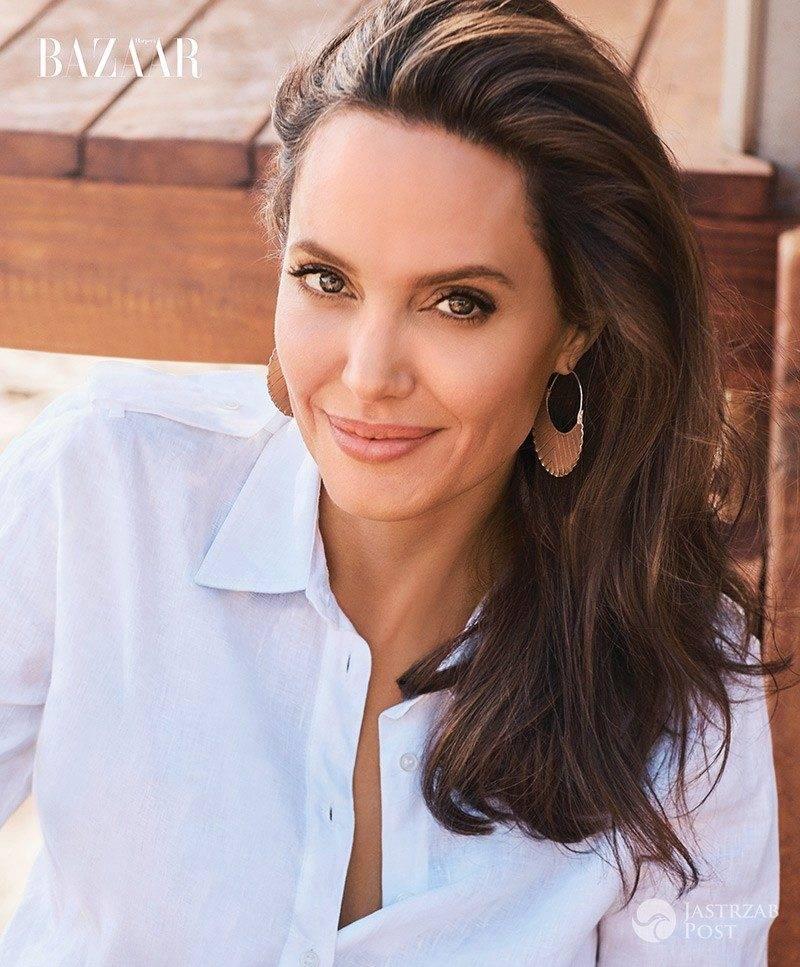 Angelina Jolie w obiektywie polskiego księcia