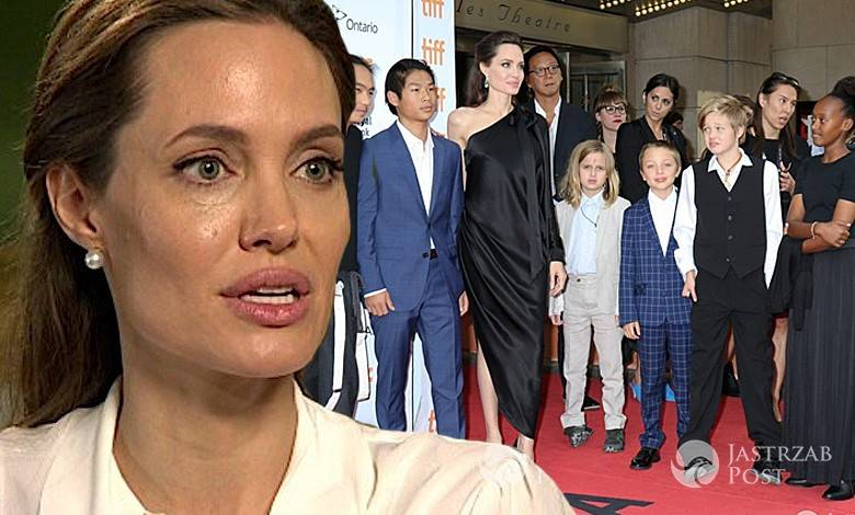 Angelina Jolie ma problem z wychowaniem dzieci