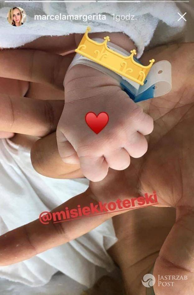 Marcelina Leszczak urodziła. Misiek Koterski został ojcem
