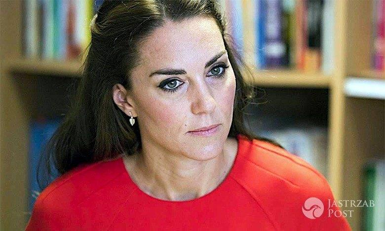 Księżna Kate smutna