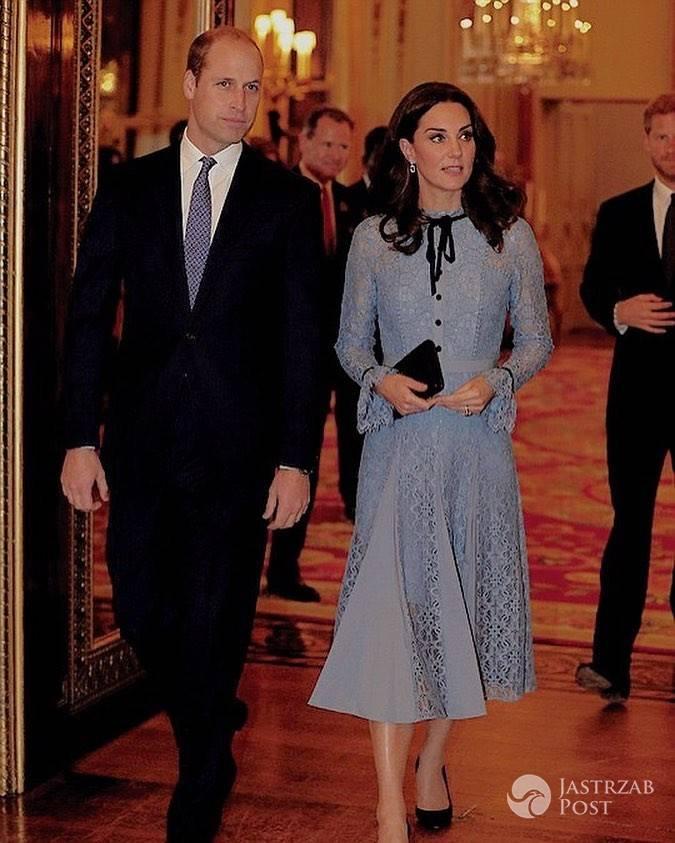 Księżna Kate jest za chuda jak na czwarty miesiąc ciąży?
