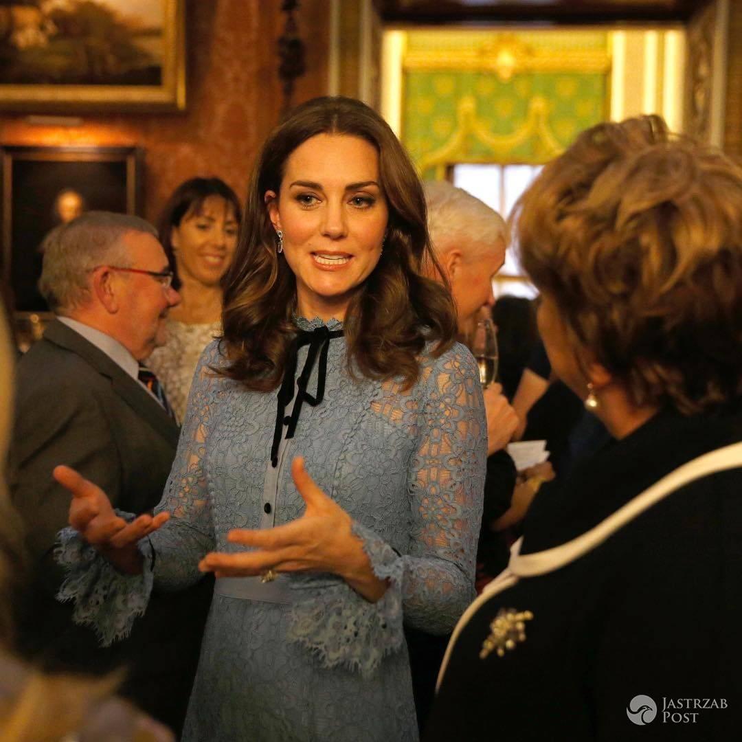 Księżna Kate w trzeciej ciąży pierwszy raz publicznie