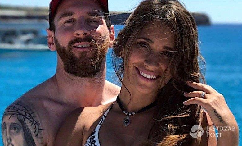Leo Messi, żona w ciąży