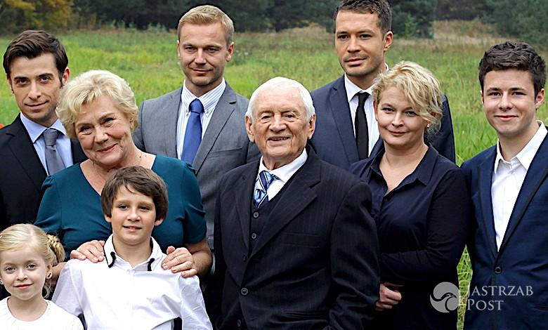 M jak miłość obsada aktorzy rodzina Mostowiaków