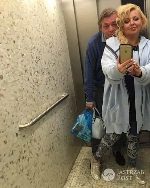 Magda Gessler pokazała zdjęcie ze swoim partnerem po wspólnej kąpieli