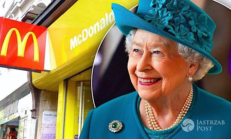 Królowa Elżbieta II, McDonalds